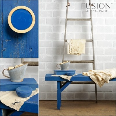 Liberty Blue Fusion Mineral Paint Pint