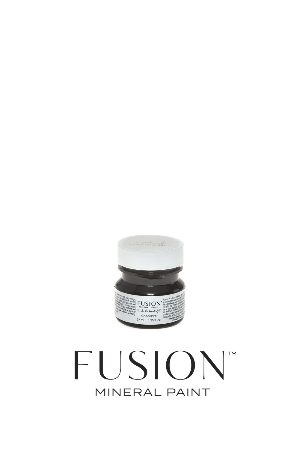 Chocolate Fusion Mineral Paint Tester