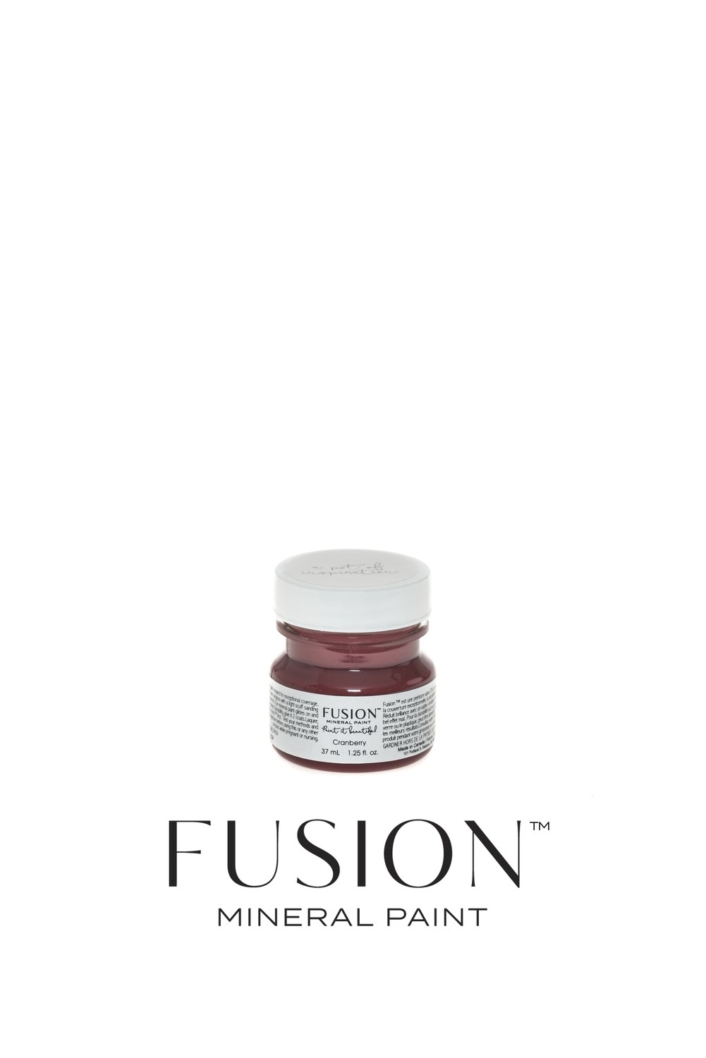 Cranberry Fusion Mineral Paint Tester