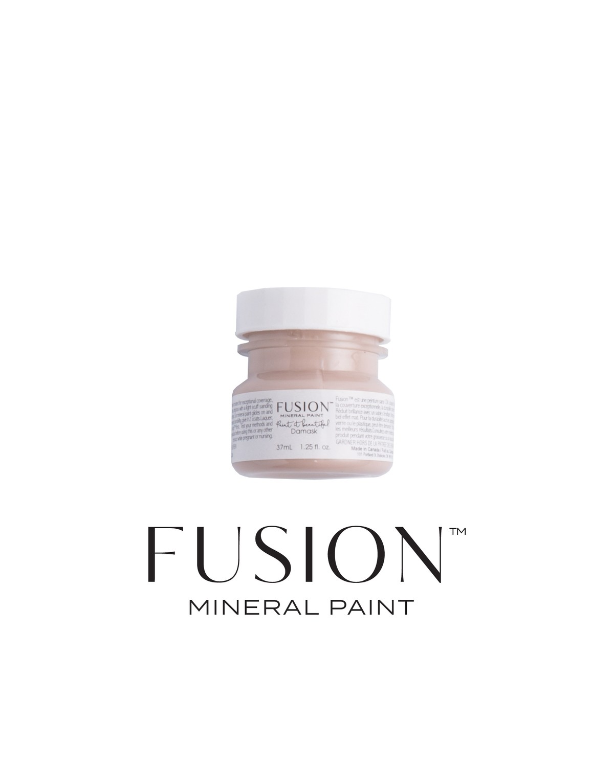 Damask Fusion Mineral Paint Tester