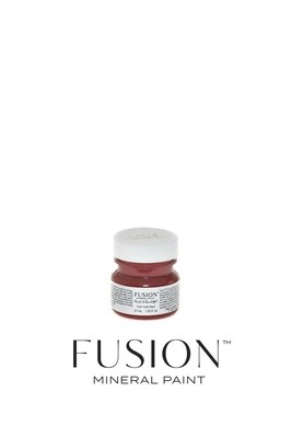 Fort York Red Fusion Mineral Paint Tester