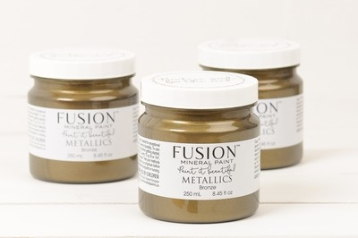 Metallics - Bronze Fusion Mineral Paint 250 mL