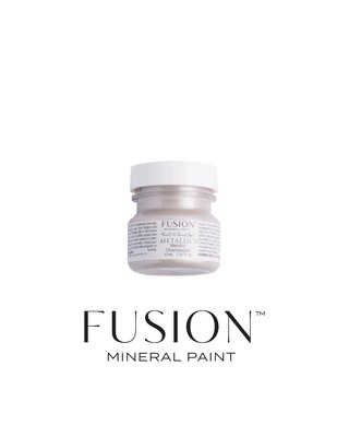 Metallics - Brushed Steel Fusion Mineral Paint 37 mL