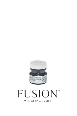 Midnight Blue Fusion Mineral Paint Tester