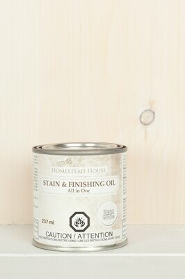 Stain & Finishing Oil All in One White Wash