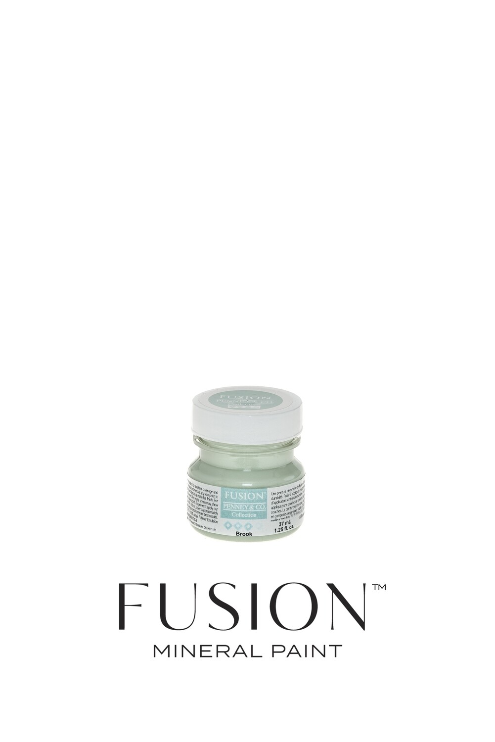 Brook Fusion Mineral Paint Tester