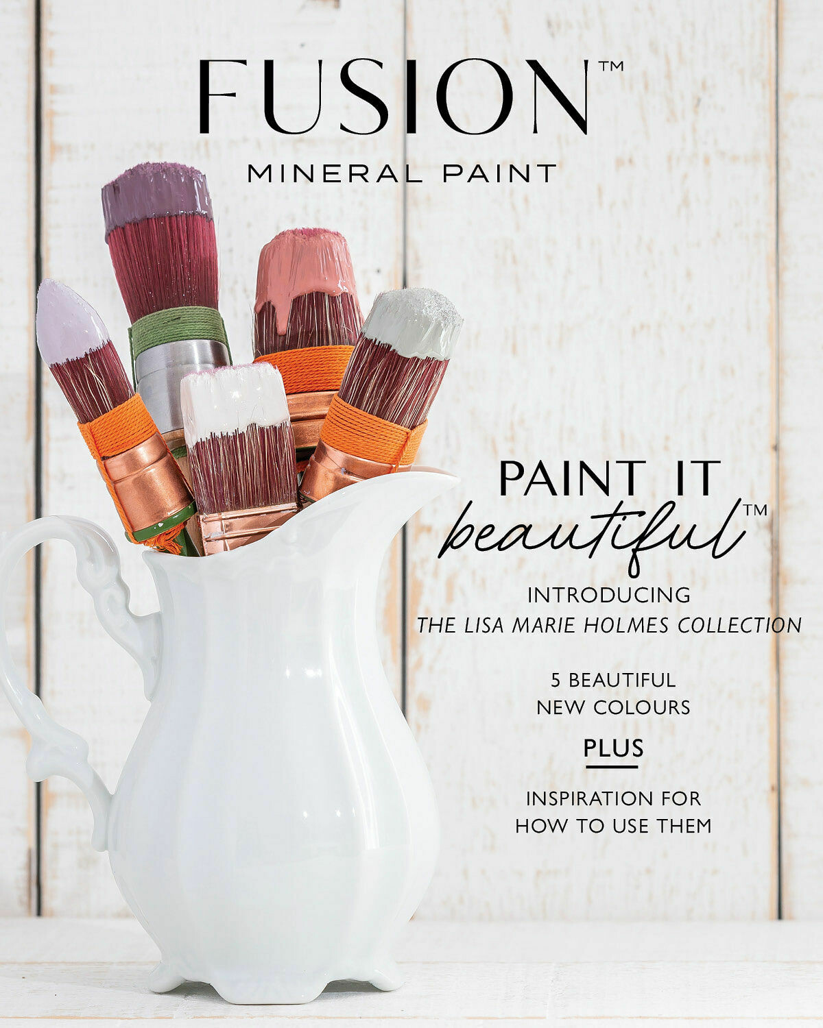 Fusion Mineral Paint Magazine - The Lisa Marie Holmes Collection