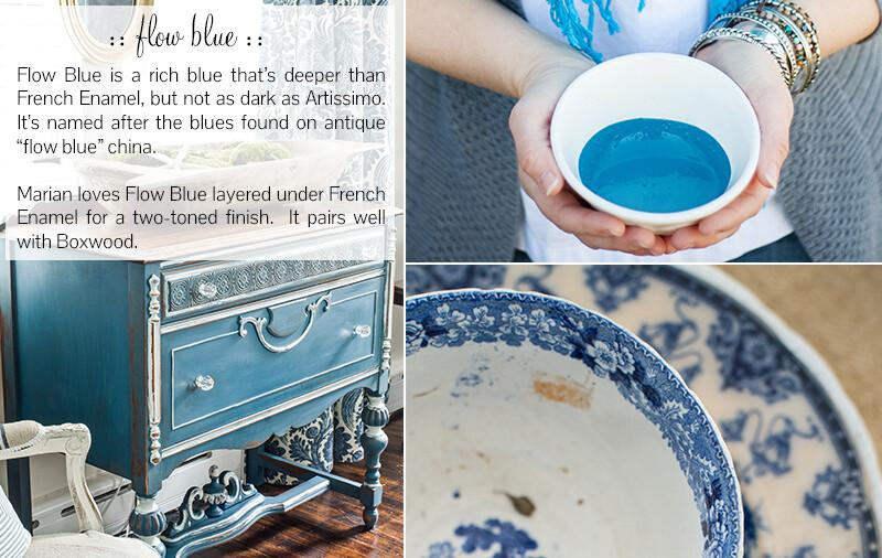 Flow Blue Quart