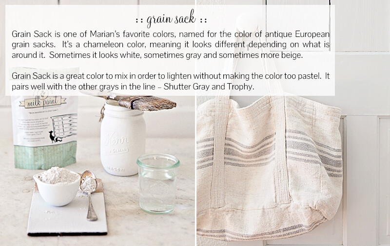 Grain Sack Quart