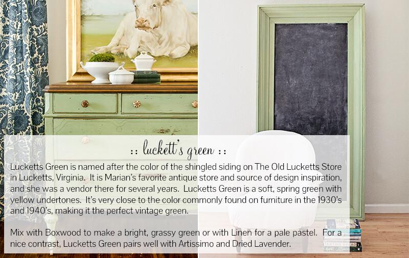 Luckett's Green Quart