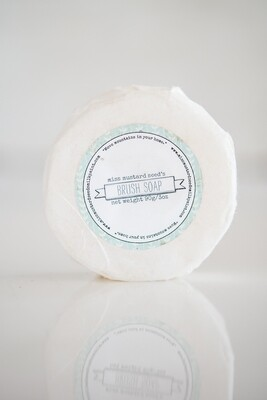 Round Brush Soap (Unscented)