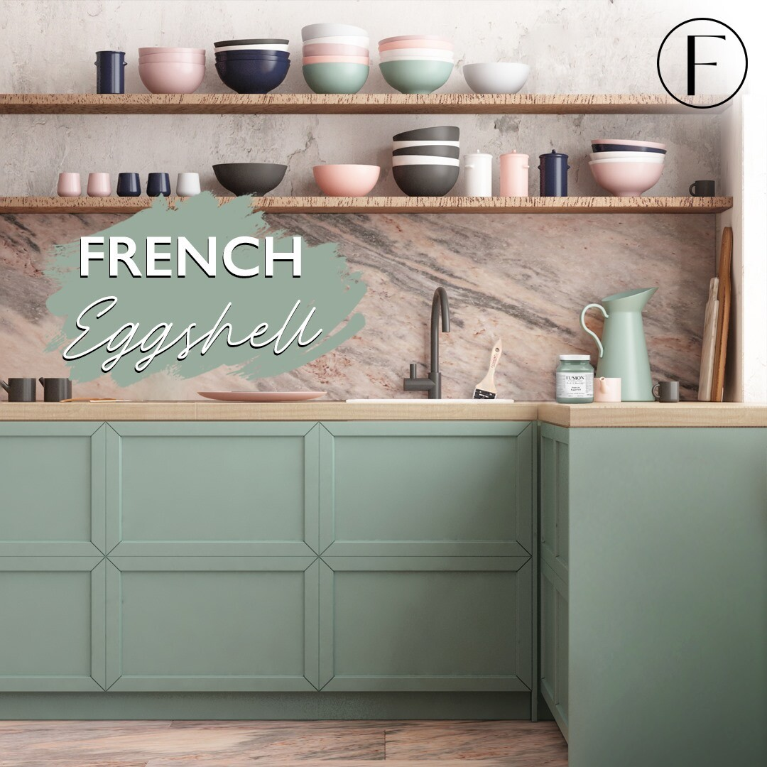 French Eggshell Fusion Mineral Paint Pint