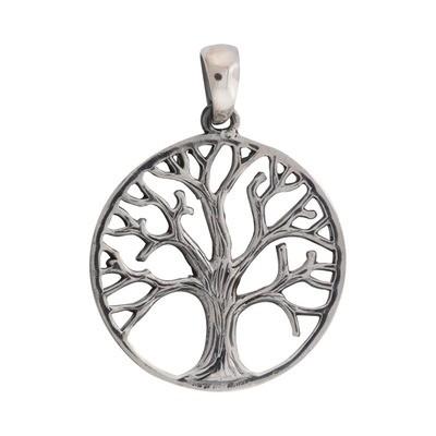 Vedhæng sølv Yggdrasil (livets træ)