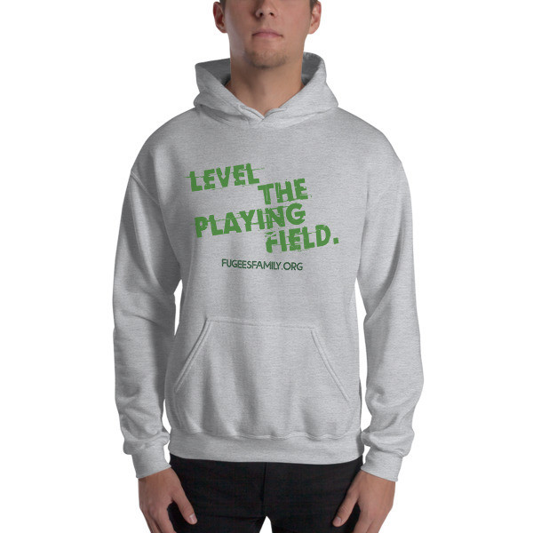 Level the Playing Field Heavy Blend Hooded Sweatshirt