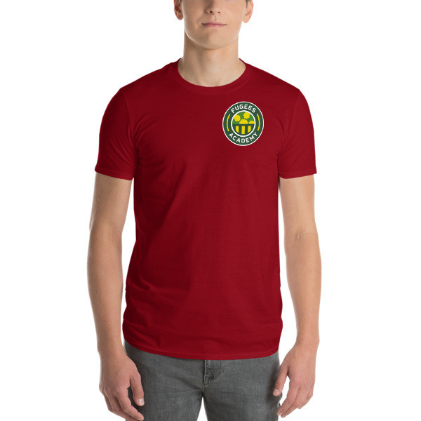 Maroon Streamlined Short Sleeve T-Shirt