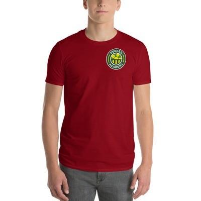 Maroon Streamlined Short Sleeve T-Shirt