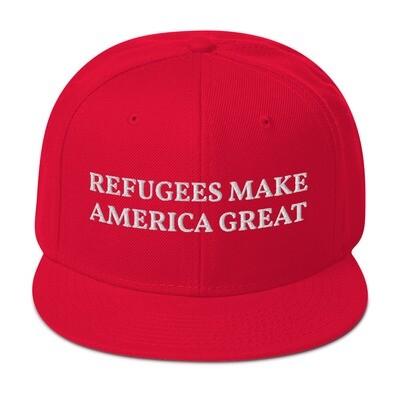 Refugees Make America Great cap