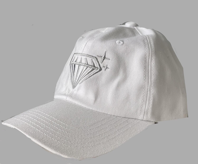 KAMfit Dad Hat - White