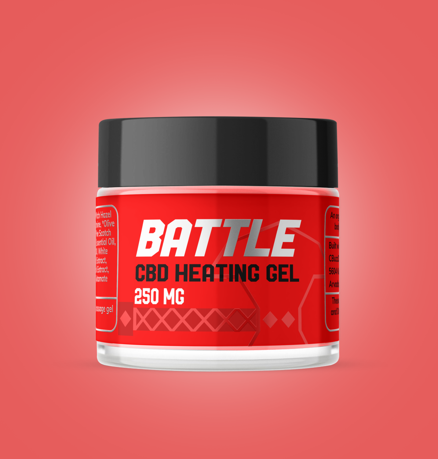 250mg Heating Gel Pain Relief Topical