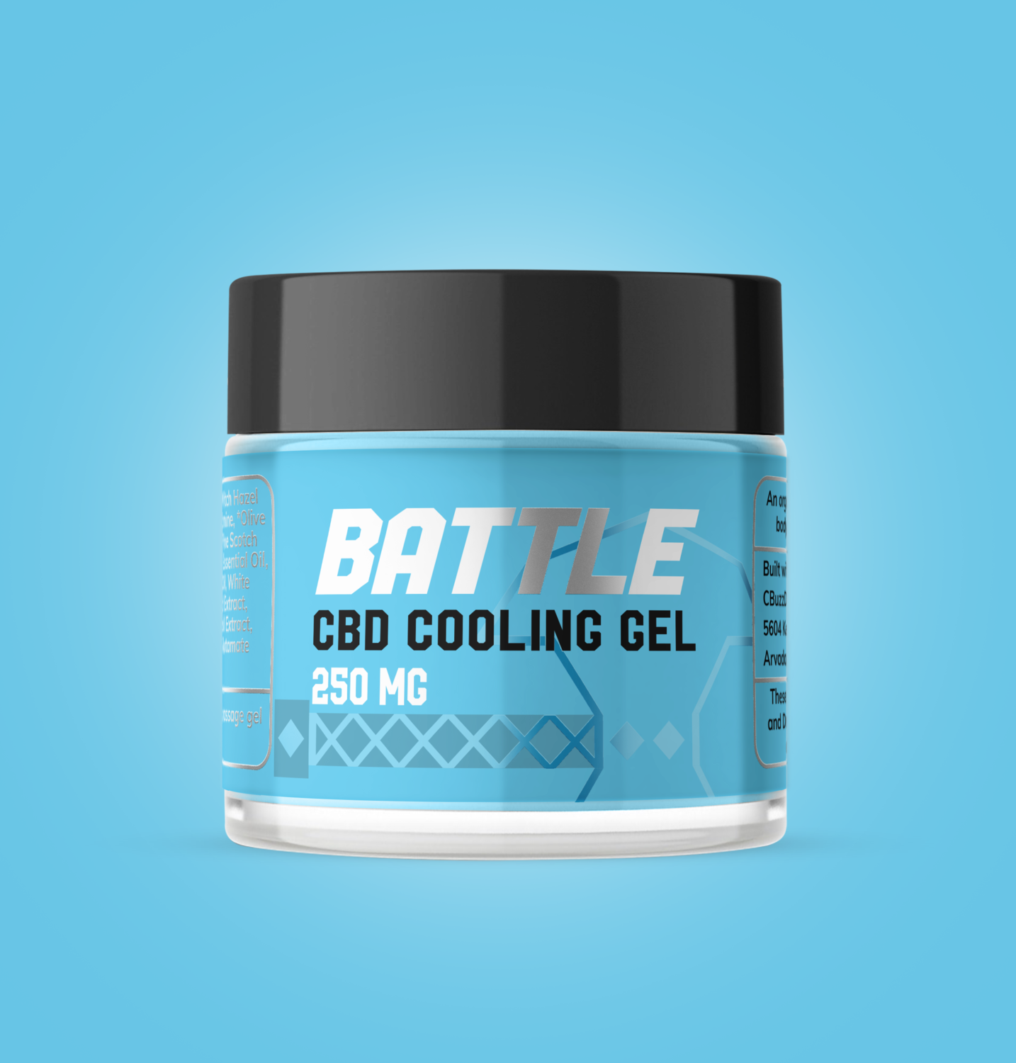 250mg  Pain Relief Cooling Gel Topical