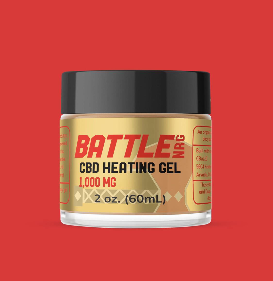 1000mg Heating Gel