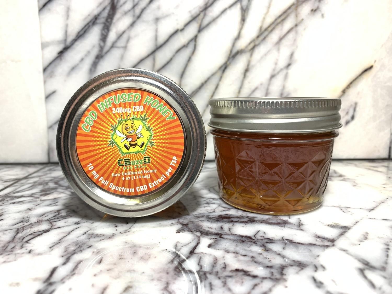 Full Spectrum CBD Infused Honey