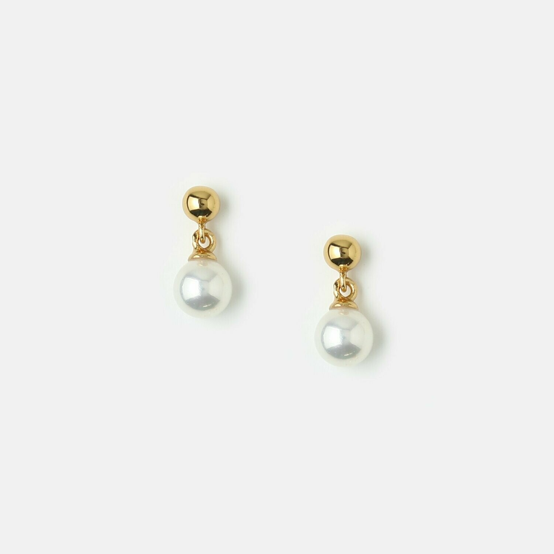 Orelia Mini Pearl Drop Stud