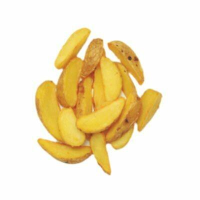 Картофельные дольки с соусом