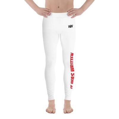 It Was Written Sportswear Men's Compression Pants