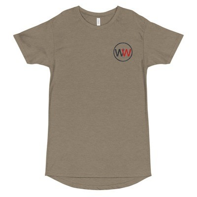 It Was Written Drop Tail Urban Embroidered Tall Tee