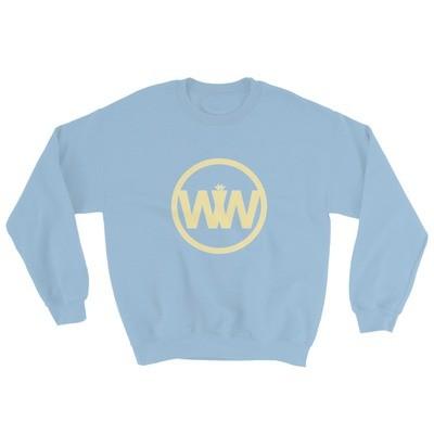 It Was Written Light Blue Unisex Pullover