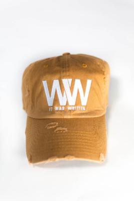 ITWW Vintage Distressed Tan Dad Hat