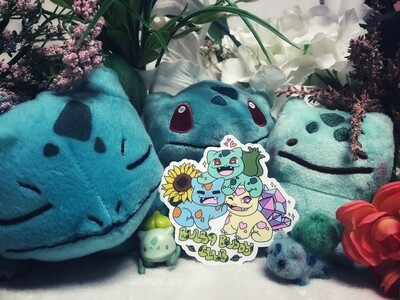 Special Bulbasaur Stickers