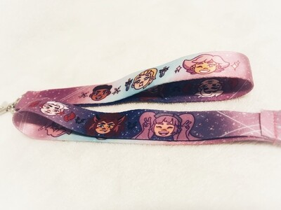 She-ra Wrist Strap and Bulba Lanyards