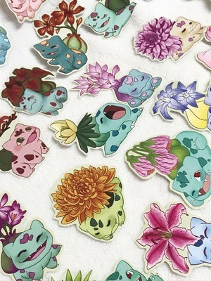 Bulbasaur Sticker Sets