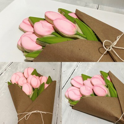 Tulip Cookie Bouquet