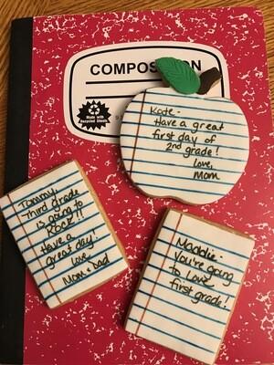 Notebook Cookies