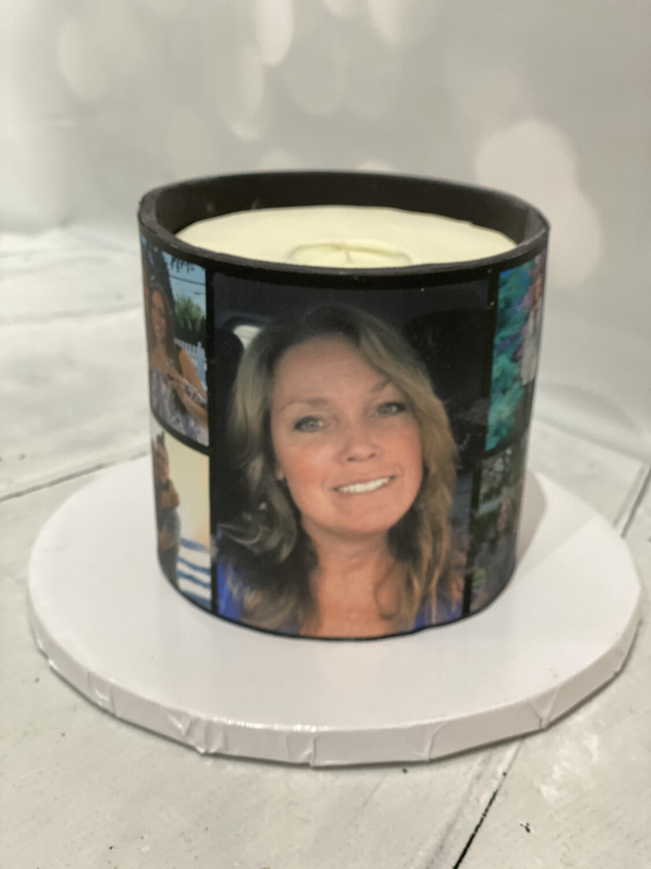 "Custom 4.5"" Candle Cake"
