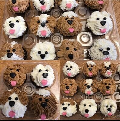 Dog Themed Cupcakes (1 dozen)