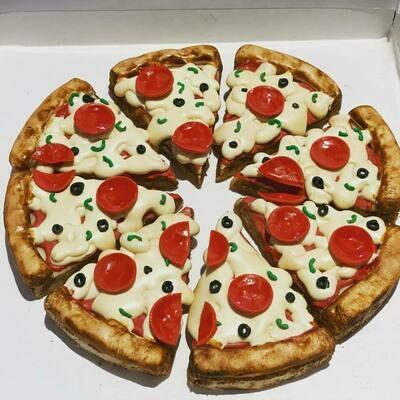 Pizza Pie Cookies