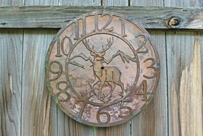 Deer Clock (Front Facing)
