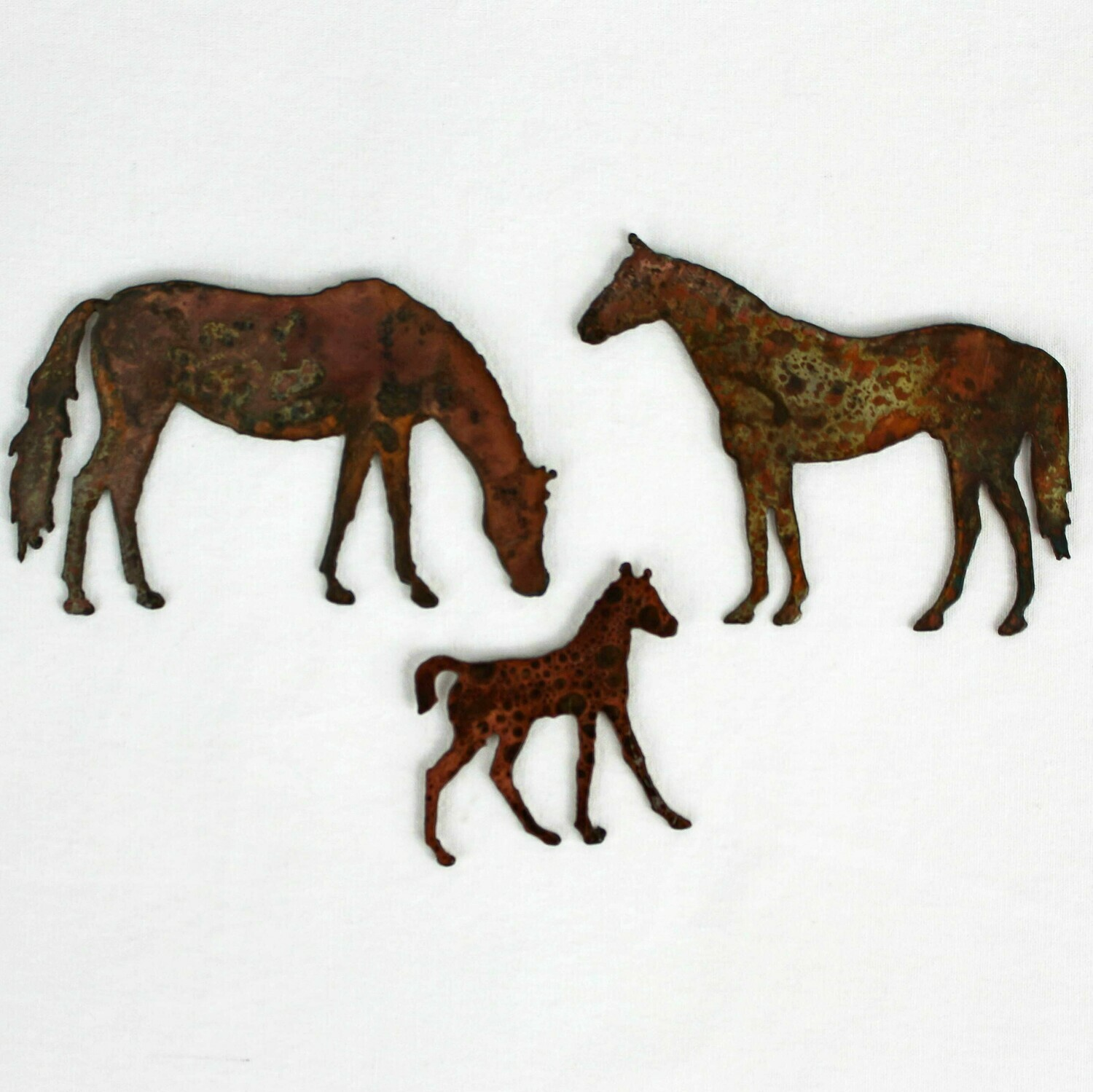 Horse Family Magnet Set