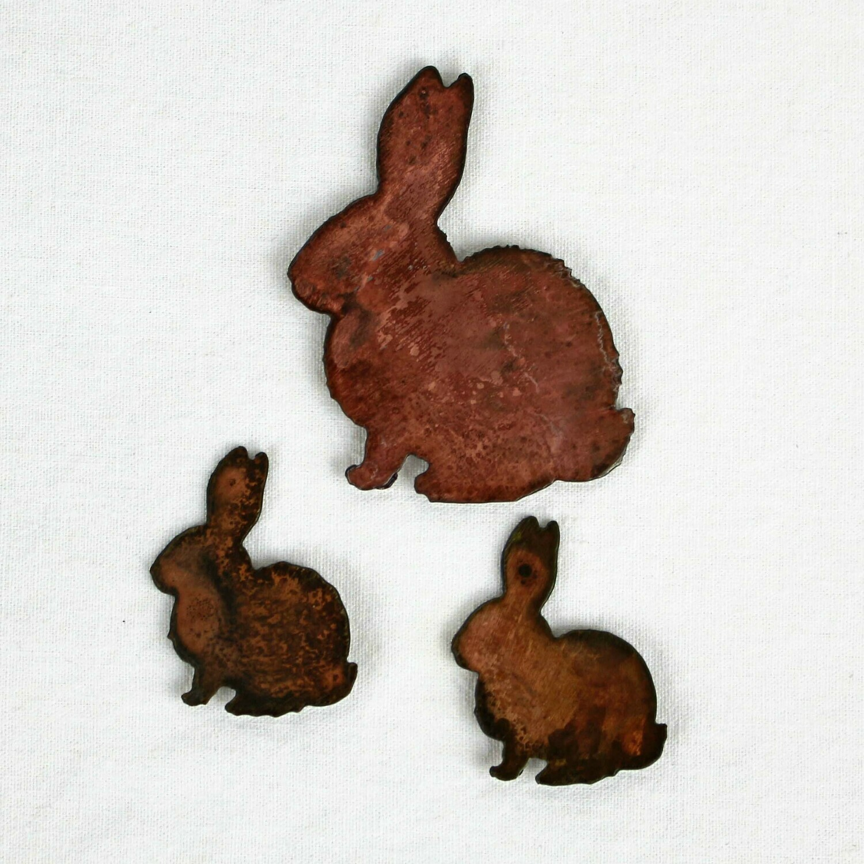 Bunny Family Magnet Set
