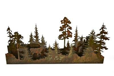 3D Tree Scene for Mantel