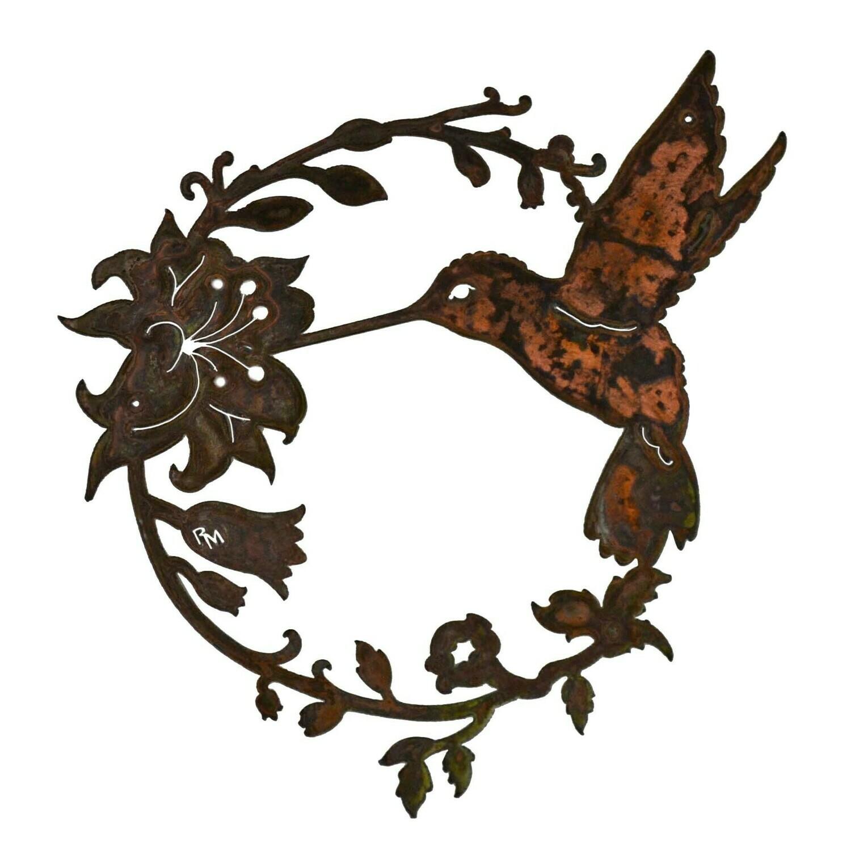 Humming Bird Wreath