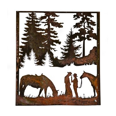 Custom Horse Trailer Door Sign