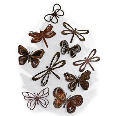Jumbo Butterfly Magnet Set