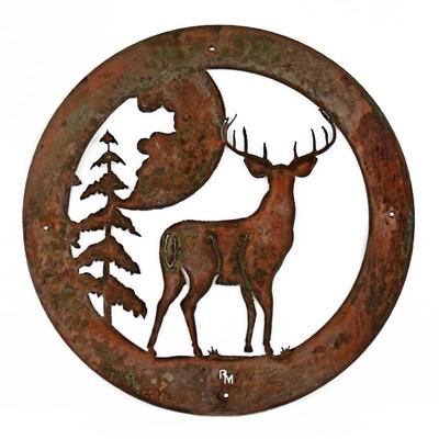 Circle Deer Moon