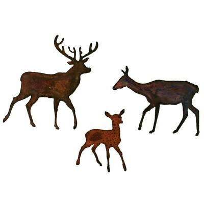 Deer Family Magnet Set