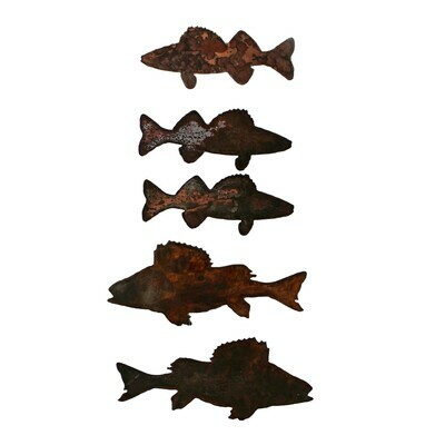 Walleye Magnet Set